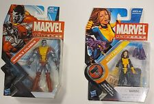 Marvel Universe X-Men: Colossus (S5#24) & Kitty Pryde w/Lockheed (S2#17) 2 Pack.