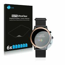 Fossil Julianna HR (5.Gen)  Watch,  6 x Transparent ULTRA Clear Screen Protector