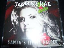 Jasmine Rae Santa's Little Helper Rare Australian Country 5 Trk Christmas CD EP