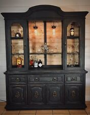 Black Rustic Cabinets Cupboards For Sale In Stock Ebay