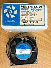 """(Lot of 10) Pamotor #8500 Dp: 3"""" Cooling Fan, 115 V Ac 50/60 Hz 12 W, Impedance"""