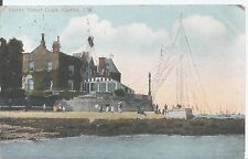 Postcard - Royal Yacht Club Isle of Wight posted 1906