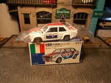 Tomica F11 Fiat 131 Abarth Rally San Remo #4 1/60 Made in Japan