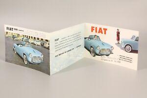 FIAT 600, 600 multipla,1100, 1200 Programm in Englisch/Program in English (1025)