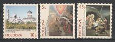 Moldova 1997 Christmas 3 MNH stamps