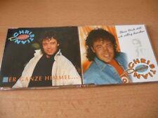 2 Single CD Set Dennie Christian: Der ganze Himmel ... + Ohne dich steh ich völl