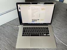 Apple MacBook Pro A1398 15,4''  i7 512SSD 16GB RAM - MGXA2D/A (Staingate)
