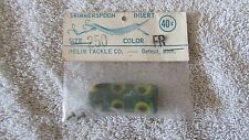 Vintage Helin's Swimmerspoon Fishing Lure Insert  - Size 250 - Color FR   (BA 1)