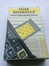 Psion II Concise Oxford Spelling Checker datapack, boxed with instruction manual