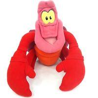 Sebastian crab plush soft toy doll The Little Mermaid Disney Vintage Flawed LotM