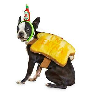 Bootique Pet Costume - Toast of the Town With Hot Sauce Headpiece - M - Medium