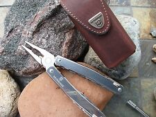 Victorinox Swiss Army SPIRIT PLUS RATCHET Multi-tool Leather Sheath 53806 NEW