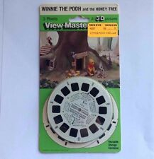 3 Vintage 1979 WINNIE THE POOH View-Master Reels WALT DISNEY Sealed NOS Disc