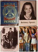 Britney Spears High School Yearbook 1996 Jamie Lynnn Spears Signed