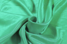 Indian Silk Solid Kimono Green Fabric Sewing Craft Dresses Upholstery By 10 Yard