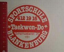 ADESIVI/Sticker: SPORT SCUOLA Blankenburg Taekwon do (23121667)