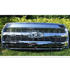 For 15-17 Ford F150 KING RANCH/LARIAT ABS OE STYLE Chrome Grille w/Camera Hole