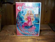 BARBIE MERMAID FAIRYTOPIA MERMAIDIA DVD NEW CARTOON ANIMATED CHILDRENS MOVIE FUN