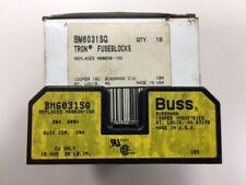 NEW (box of 10) - Eaton Bussmann BM6031SQ Fuseblock - 30 amp 600 volt 1 pole