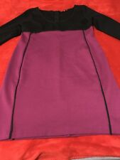 Narciso Rodriguez For Design Nation Black/Mulberry  Size XL