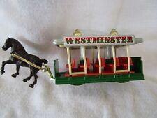 """1983-84 Lledo DaysGone """"Westminster"""" Horse Drawn Trolley"""