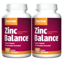 Jarrow Zinc Balance 15 MG 100 CAPS - 2 Packs