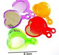 10 Set safety Mini Mirror + Comb Girl Pinata bag Party Favors souvenir giveaways