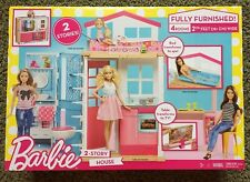 Barbie 2-Story House with Furniture  Accessories - Brand New in Box