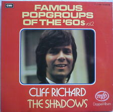 CLIFF RICHARD + THE SHADOWS - Famous pop groups of the 60s Vol. 2 - DLP