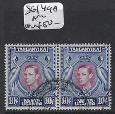 KENYA, UGANDA, TANGANYIKA (P0205B) KGVI 10/- SG 149A PR  VFU