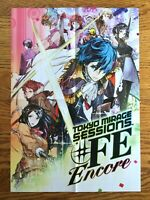 Official Tokyo Mirage Sessions #FE Encore / Manakete Poster Nintendo Switch Rare