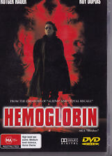 HEMOGLOBIN Rutger Hauer DVD PAL All Zone NEW