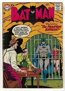 DC COMICS Batman 110 Golden age FN- 5.5 phantom