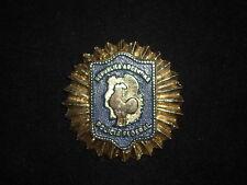 Argentina Federal Police Award Brass desk medal plaque