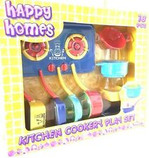 HAPPY HOME  KITCHEN COOKERY PLAY SET 13 Pieces. New & Free Delivery