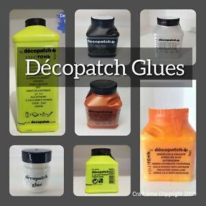 Decopatch Glue, Decoupage Glue, Napkin Glue, Glossy, Glitter ,Varnish, Gesso