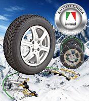 SNOW CHAINS 4WD 4X4 AUTOTECNICA 265/65 R17 TOYOTA PRADO GRANDTREK BRIDGESTONE