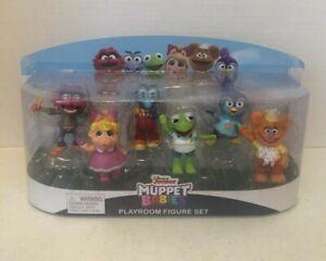 Disney Junior Muppet Babies Playroom Figures 6 Piece Figure Set NEW