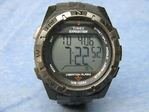 "Men's TIMEX ""Expedition"" Water Resistant Digital Watch w/ New Battery"