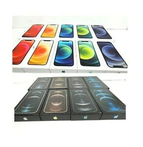 Genuine Apple iPhone 12 Mini/Pro/12 Pro Max Empty Box-With/Without Accessories