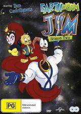 Earthworm Jim : Season 2 (Dvd, 2-Disc Set) New & Sealed - Dan Castellaneta