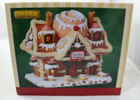Cinna Swirl Cabin Lemax  #85383 Lighted Sweets Sugar Christmas Village NEW 2018