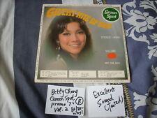"""a941981 Betty Chung  鍾玲玲 綠寶 Green Spot 7""""  Vinyl EP Single Volume 2 (B)"""