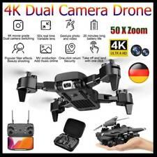 360° Roll WIFI FPV Drohne Mit 4K HD Kamera Selfie Quadrocopter RC Faltbar Drone