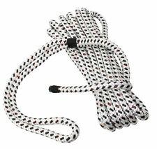GLEISTEIN Bavaria mooring line white black rope 30 cm 6 m 12 mm