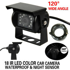 Heavy Duty CCD IR 12v/24v Colour Reversing Camera Reverse Rearview Car Caravan