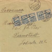 1921: letter from Nuia to Darmstadt