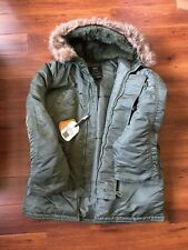 Alpha Industries N-3B Parka - BRAND NEW, Size LARGE