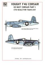 LPS Decals 1/72 VOUGHT F4U CORSAIR U.S. Navy Fighter Part 1