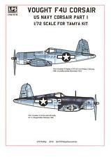 LPS Decals 1/72 VOUGHT F4U CORSAIR U.S. Navy Fighter Part 1